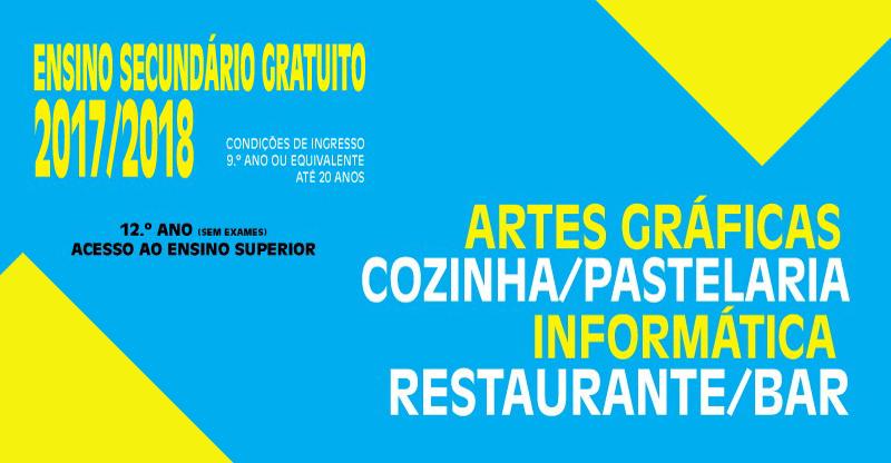 ABERTAS AS MATRÍCULAS 1º ANO 2017-2018 – VAGAS LIMITADAS