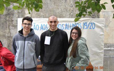 NOVOS ALUNOS, MADRINHAS E PADRINHOS DA EPTOMAR