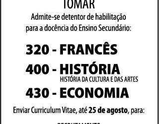RECRUTAMENTO DE PESSOAL DOCENTE